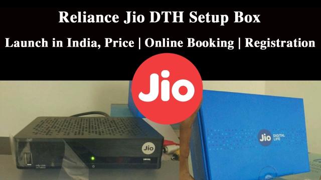 Jio DTH Setup box